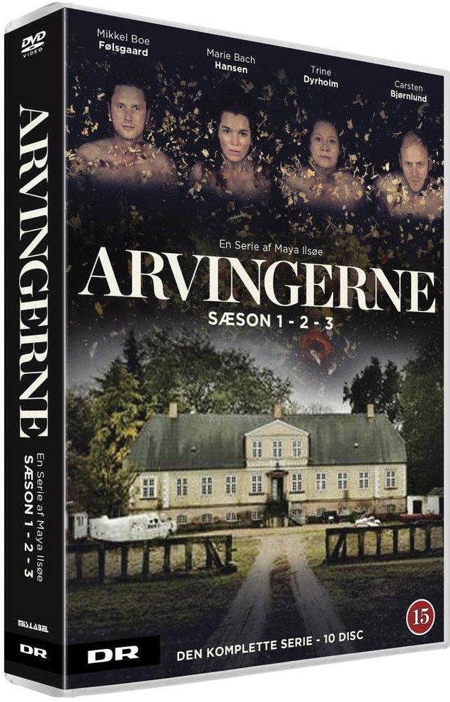 Image of   Arvingerne - Sæson 1-3 Boks - DVD - Tv-serie