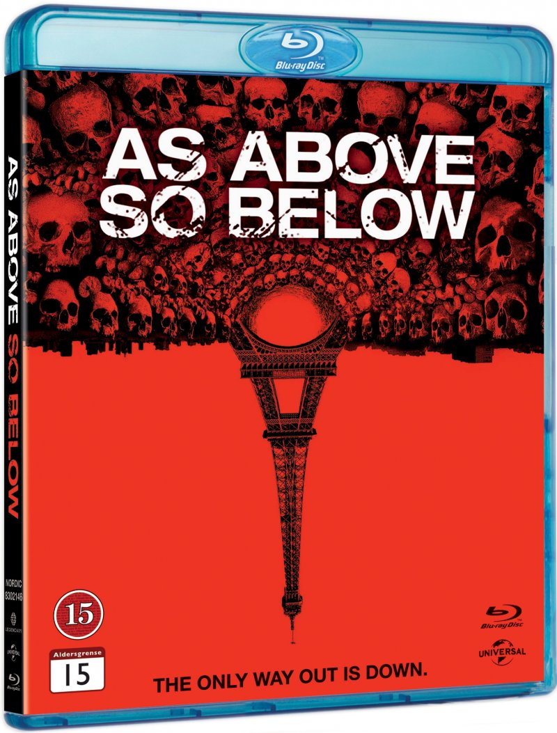 Image of   As Above So Below - Blu-Ray