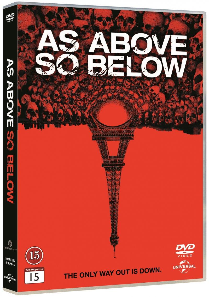 Billede af As Above So Below - DVD - Film