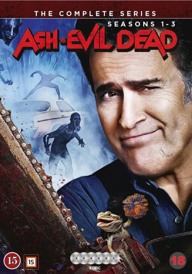 Image of   Ash Vs Evil Dead - Sæson 1-3 - DVD - Tv-serie