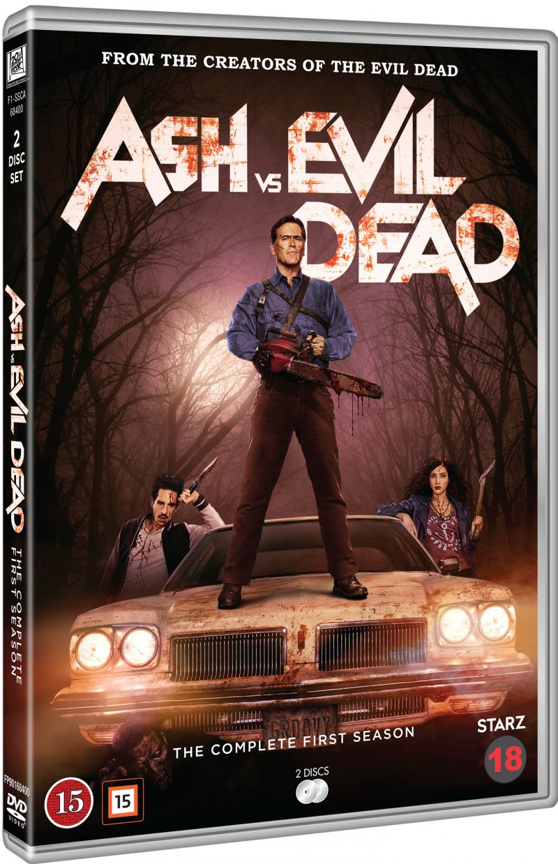 Image of   Ash Vs Evil Dead - Sæson 1 - DVD - Tv-serie