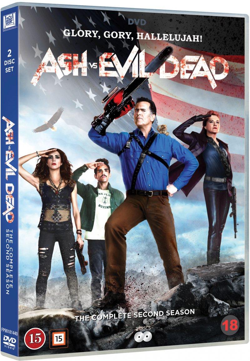 Image of   Ash Vs Evil Dead - Sæson 2 - DVD - Tv-serie