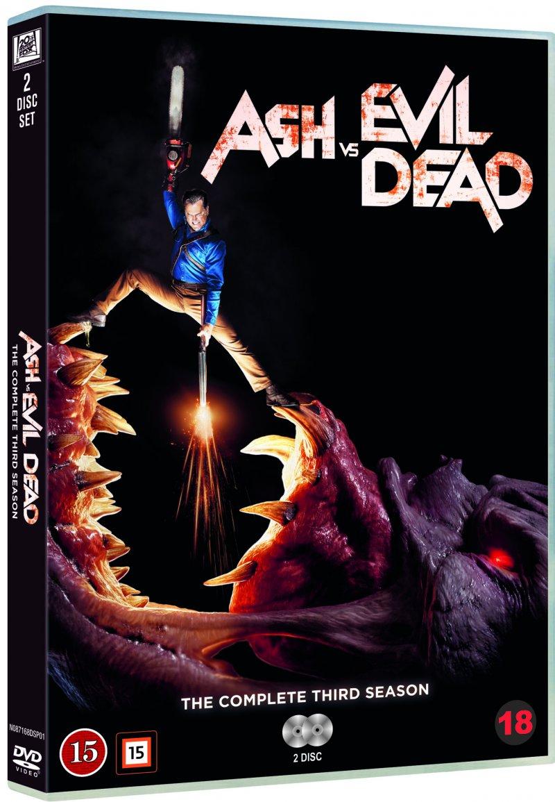 Image of   Ash Vs Evil Dead - Sæson 3 - DVD - Tv-serie
