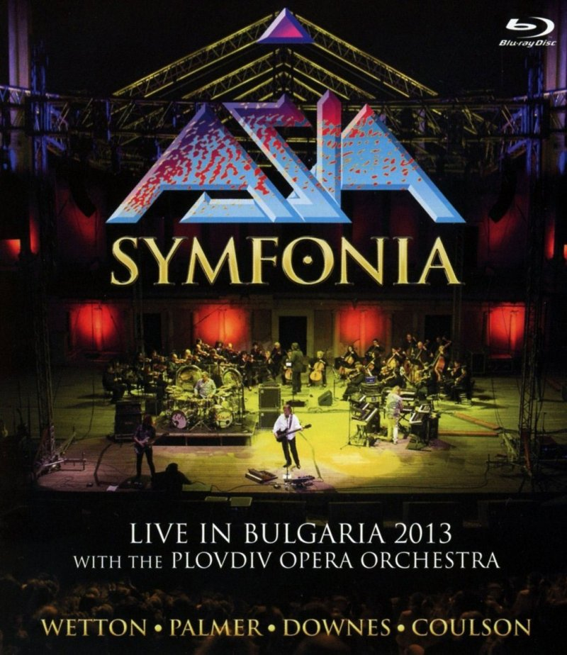 Image of   Asia Symfonia - Live In Bulgaria 2013 - Blu-Ray