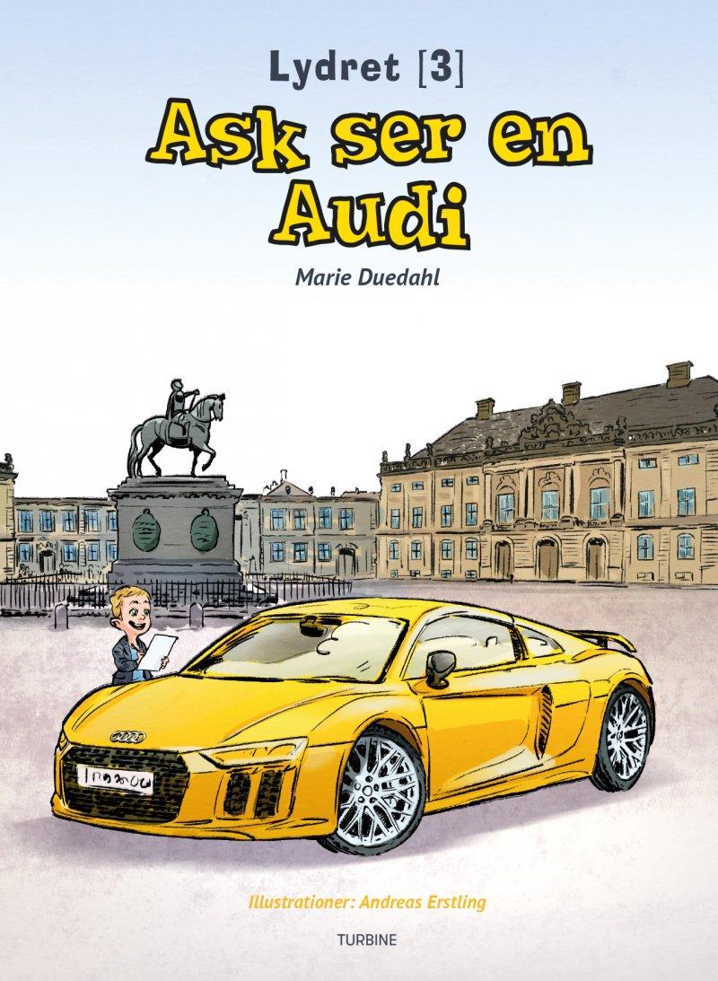 Billede af Ask Ser En Audi - Marie Duedahl - Bog