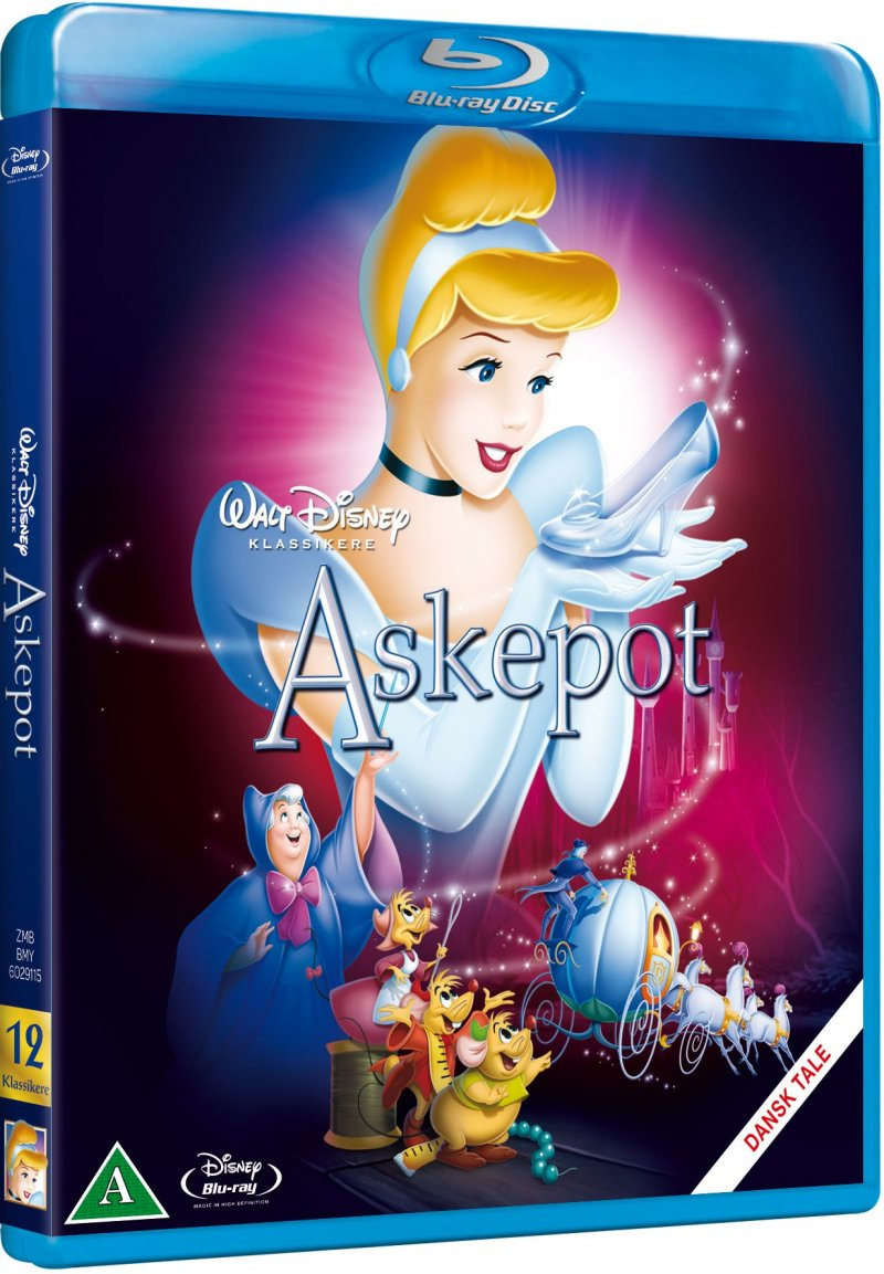 Image of   Askepot / Cinderella - Disney - Blu-Ray