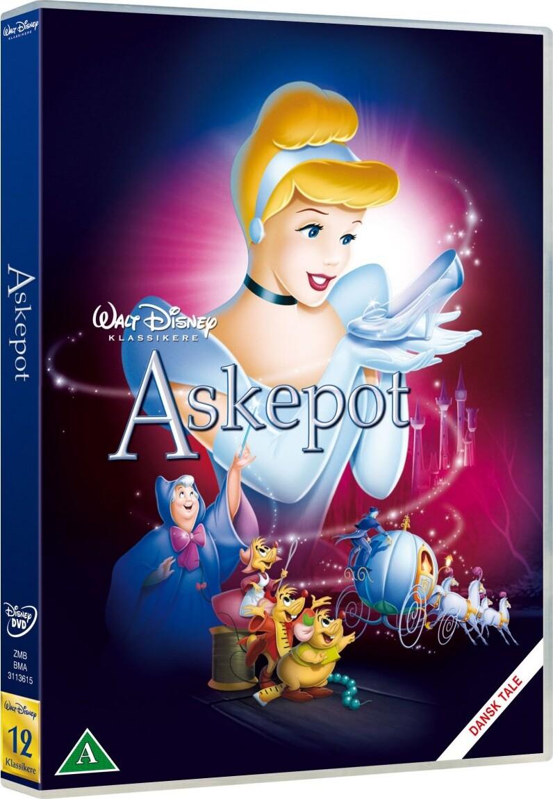 Image of   Askepot / Cinderella - Disney - DVD - Film