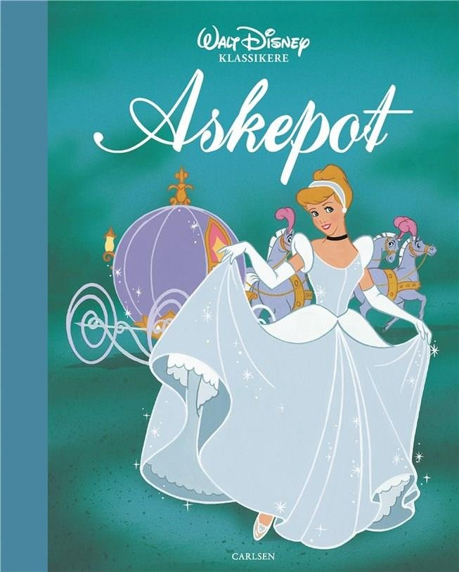 Askepot - Disney - Bog