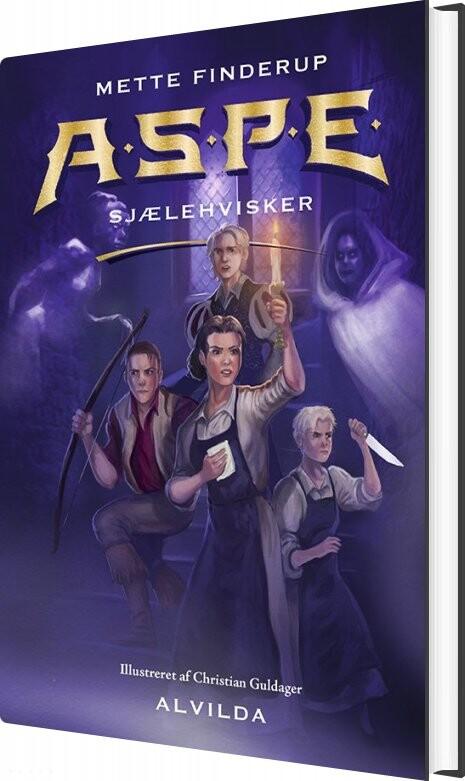 Image of   A.s.p.e. 3: Sjælehvisker - Mette Finderup - Bog