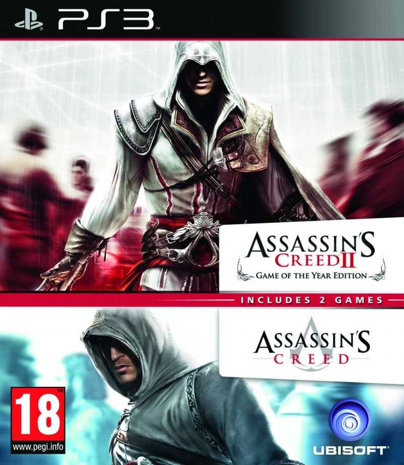 Image of   Assassins Creed 1 & 2 Compilation - PS3