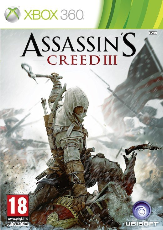 Image of   Assassin's Creed Iii (3) (nordic) - Xbox 360
