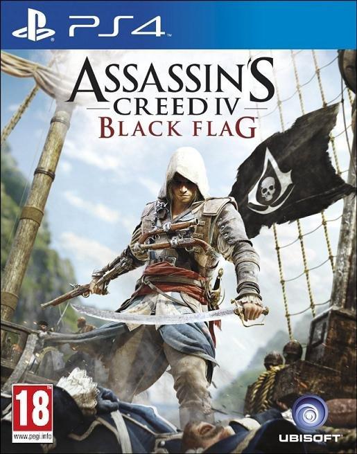 Image of   Assassins Creed Iv (4) Black Flag (nordic) - PS4