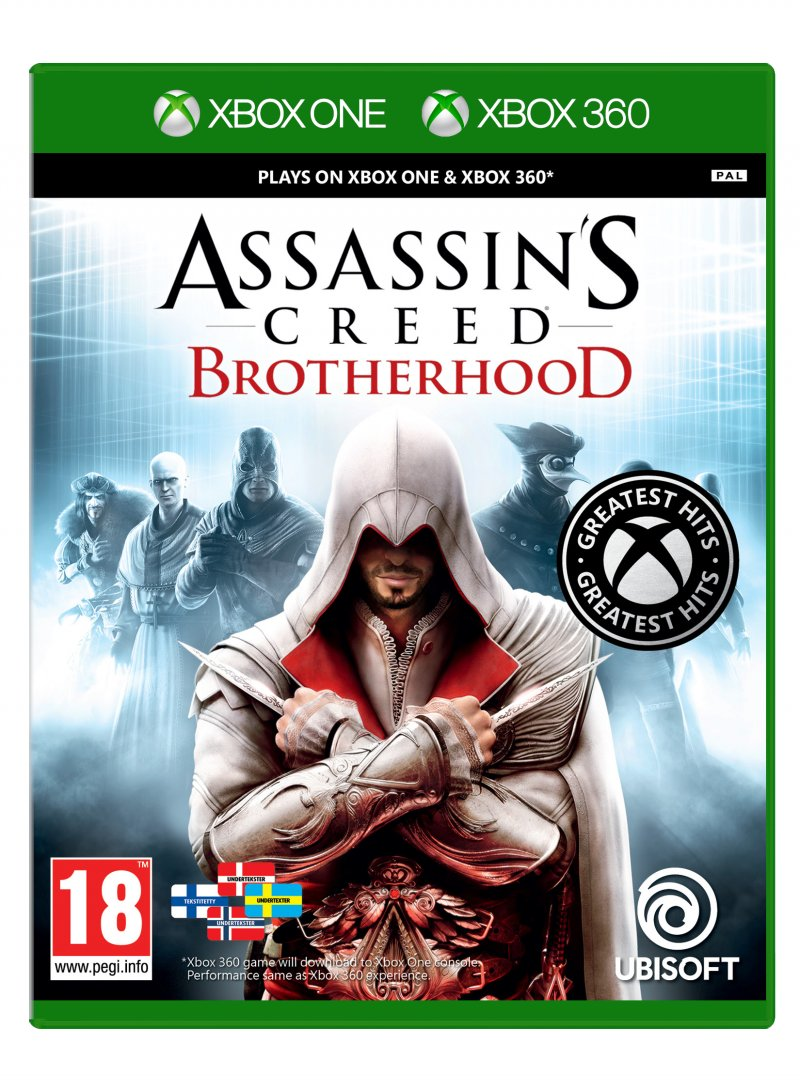 Image of   Assassin's Creed: Brotherhood (greatest Hits) - Xbox 360