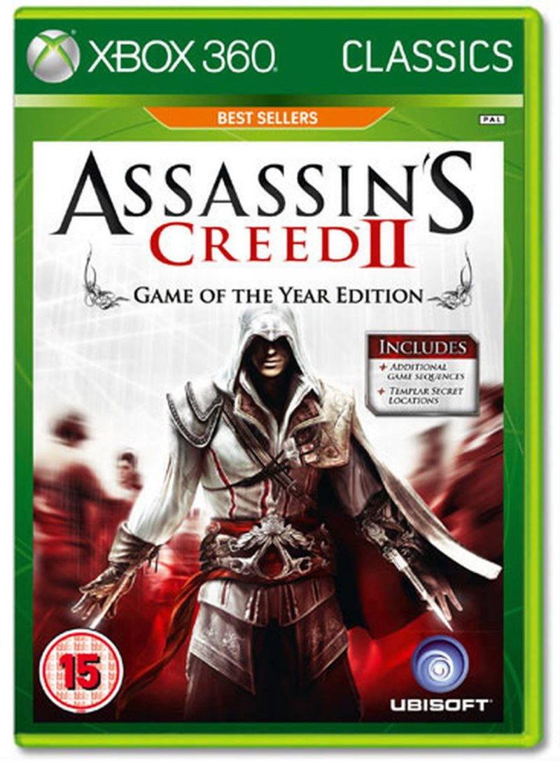 Image of   Assassins Creed Ii (2) Goty Edition - Classics - Xbox 360