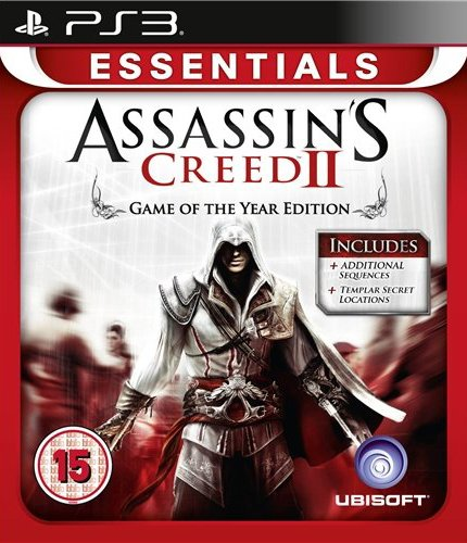 Image of   Assassins Creed Ii - Game Of The Year - Essentials - PS3