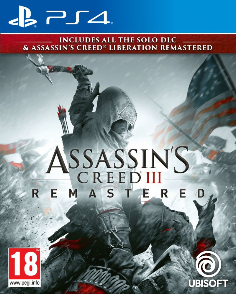 Image of   Assassin's Creed Iii (3) Liberation Hd Remaster - PS4