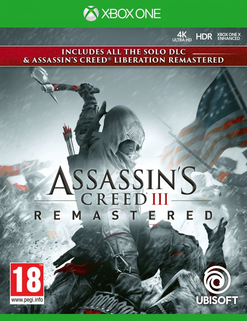 Image of   Assassin's Creed Iii (3) Liberation Hd Remaster - Xbox One