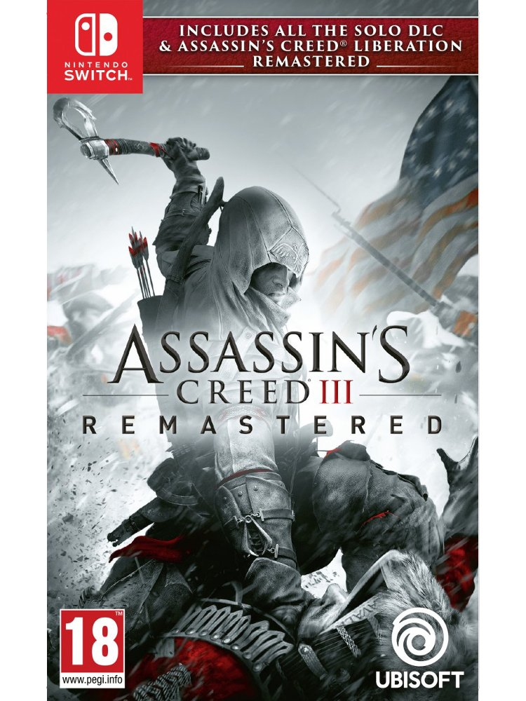 Image of   Assassins Creed Iii (3) Liberation Hd Remaster - Nintendo Switch