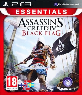Image of   Assassins Creed Iv (4) Black Flag - Essentials (nordic) - PS3