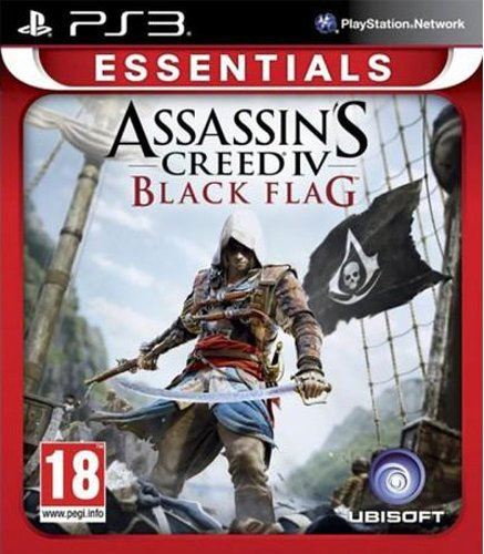 Image of   Assassin's Creed Iv (4) Black Flag - Essentials - PS3