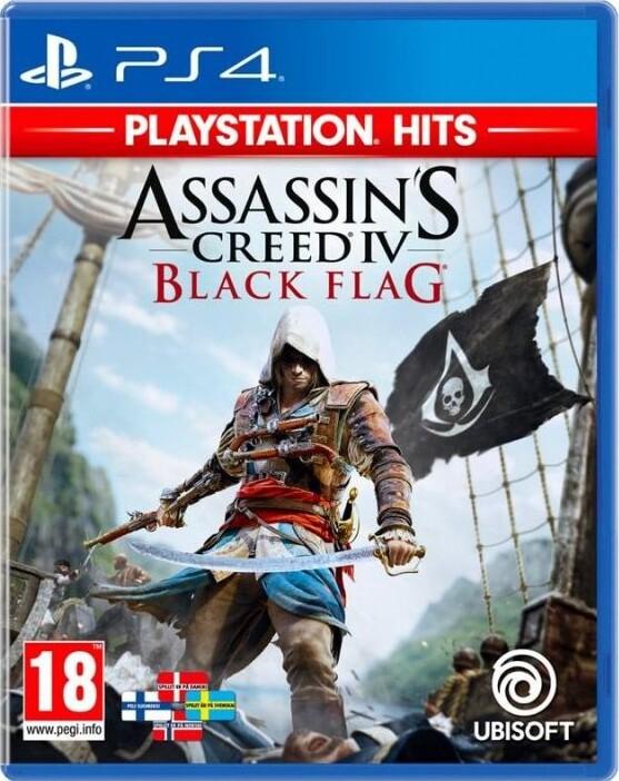 Image of   Assassins Creed Iv (4) Black Flag (playstation Hits) - PS4