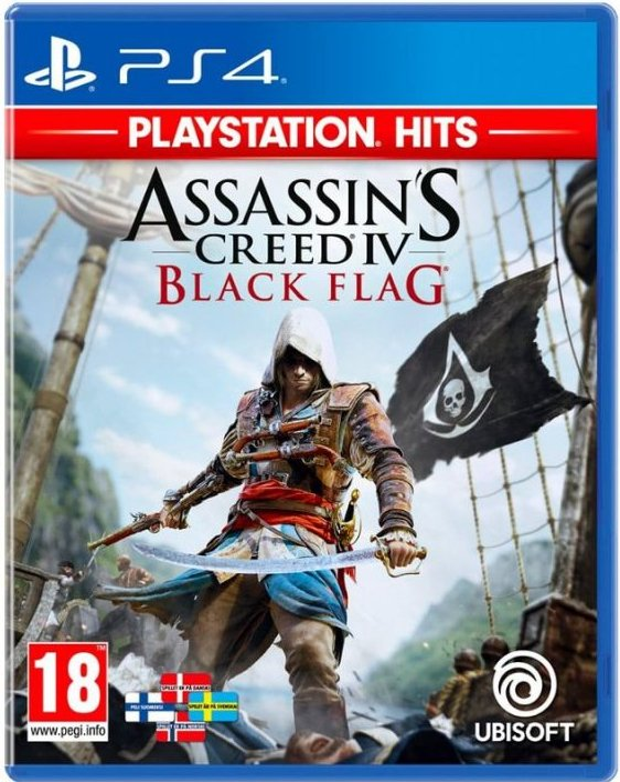 Image of   Assassin's Creed Iv (4) Black Flag (playstation Hits) - PS4