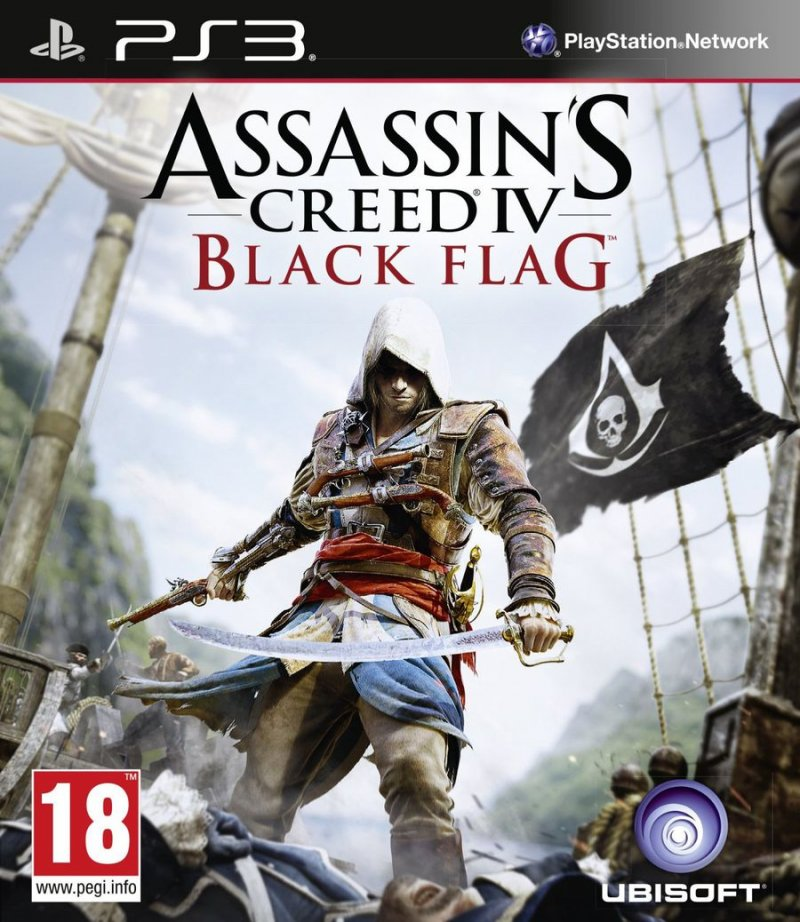 Image of   Assassins Creed Iv (4) Black Flag - PS3