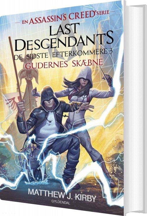Image of   Assassin's Creed - Last Descendants: De Sidste Efterkommere 3 - Matthew J. Kirby - Bog