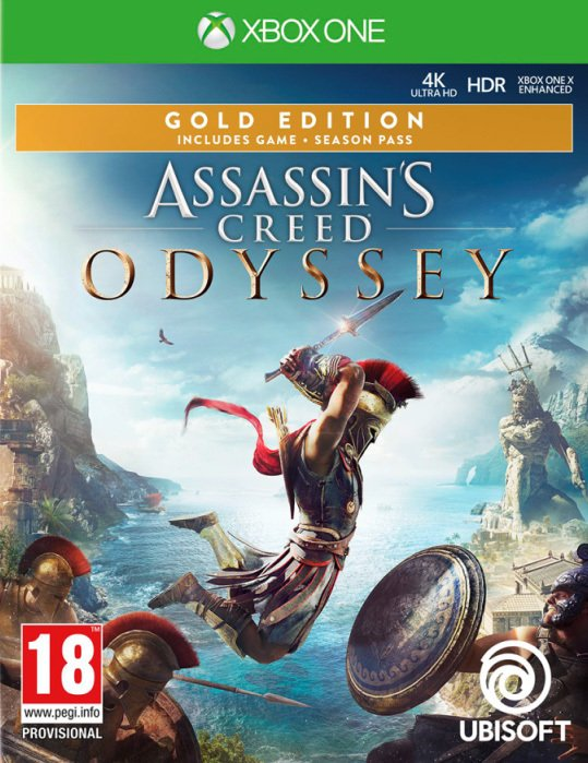 Assassins Creed: Odyssey - Gold Edition - Xbox One