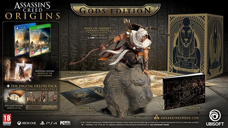 Assassins Creed: Origins Gods Edition - Xbox One