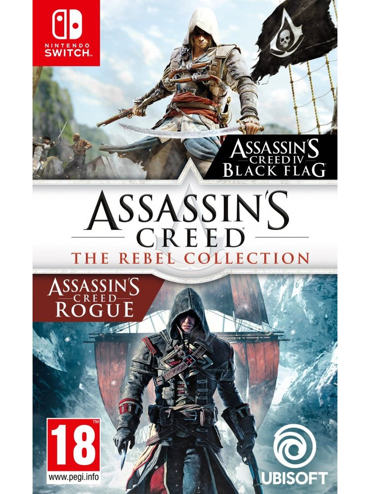 Image of   Assassins Creed Rebel Collection - Nintendo Switch
