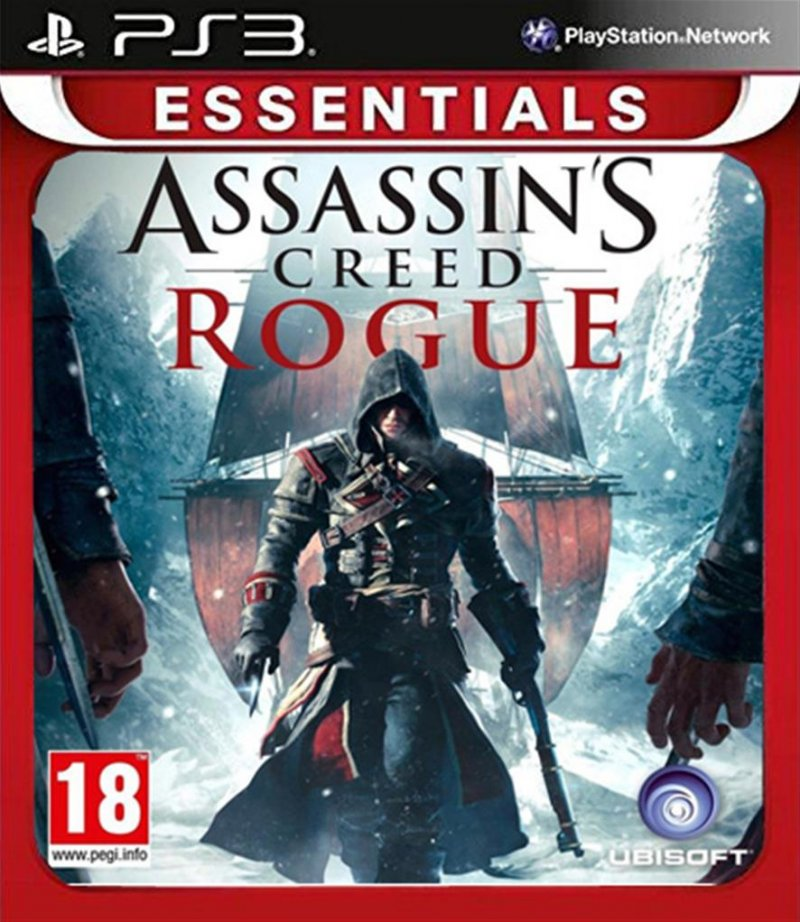 Image of   Assassin's Creed Rogue (nordic)(essentials) - PS3