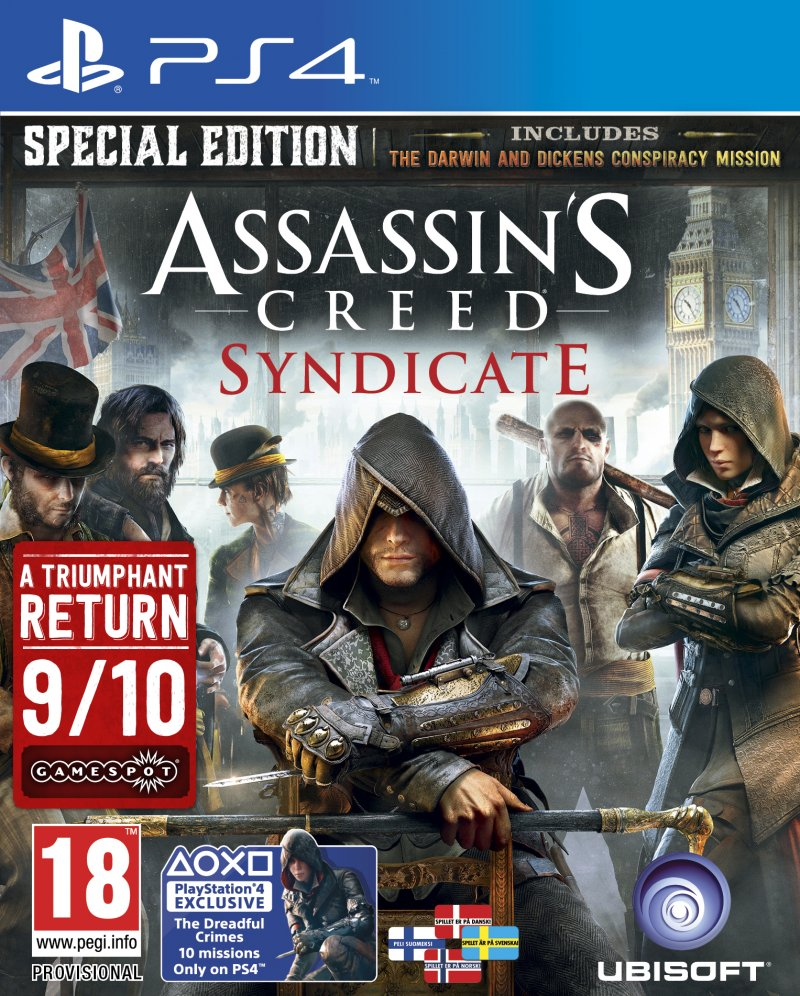 Image of   Assassins Creed: Syndicate - Special Edition (nordic) - PS4
