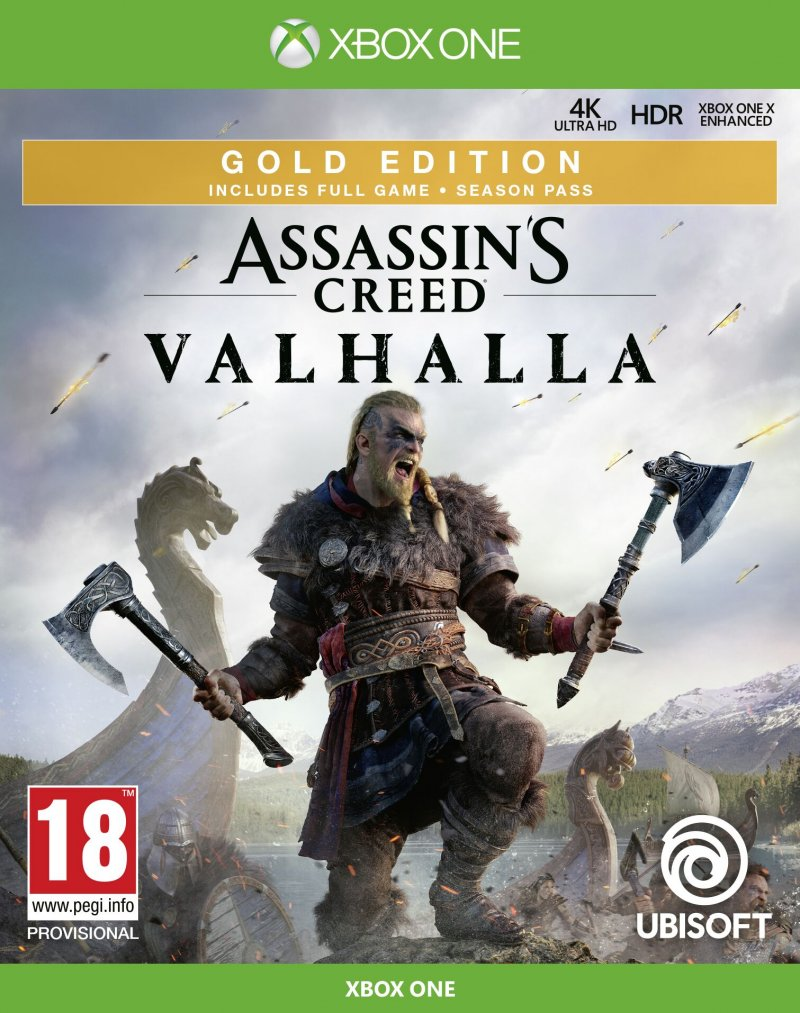 Image of   Assassins Creed: Valhalla - Gold Edition - Xbox One