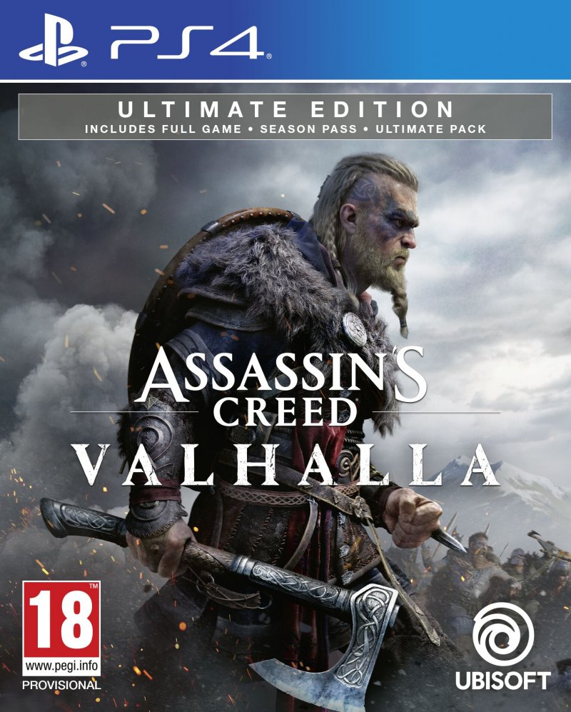 Image of   Assassins Creed: Valhalla - Ultimate Edition - PS4