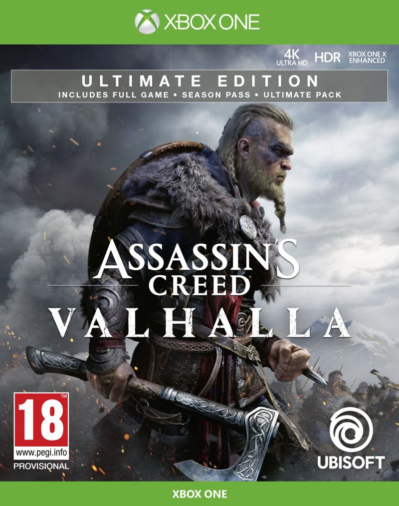 Image of   Assassins Creed: Valhalla - Ultimate Edition - Xbox One