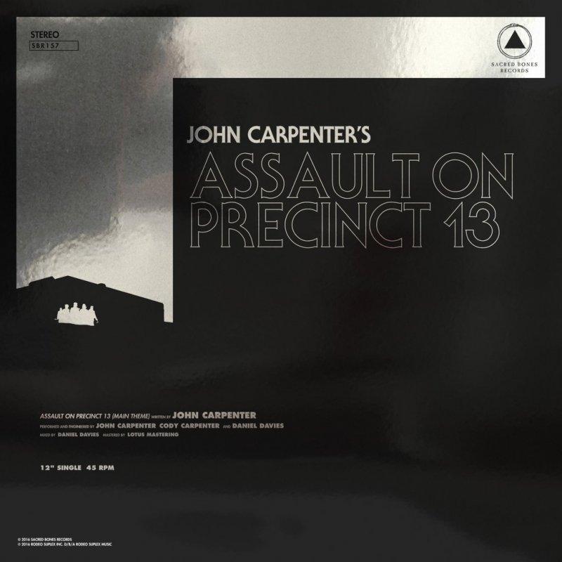 """Image of   John Carpenter - Assault On Precinct 13b/wthe Fog - 12"""" - Vinyl / LP"""