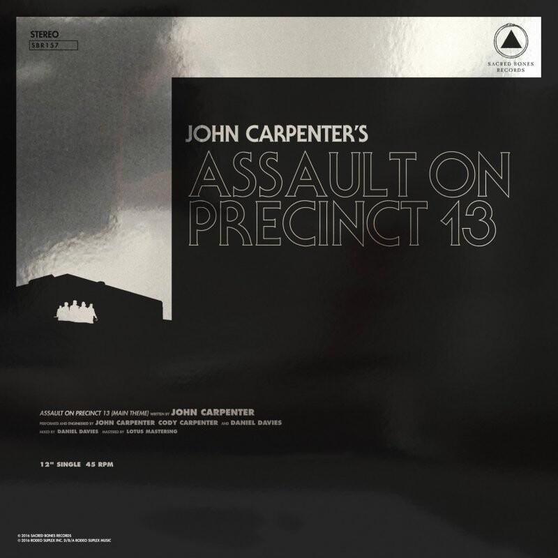 Image of   John Carpenter - Assault On Precinct 13/the Fog - Vinyl / LP