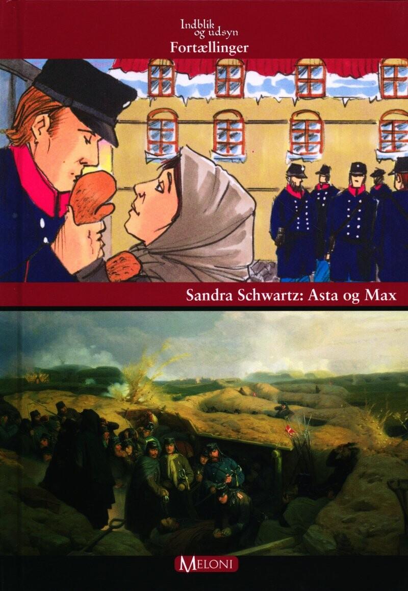 Image of   Asta Og Max - Sandra Schwartz - Bog