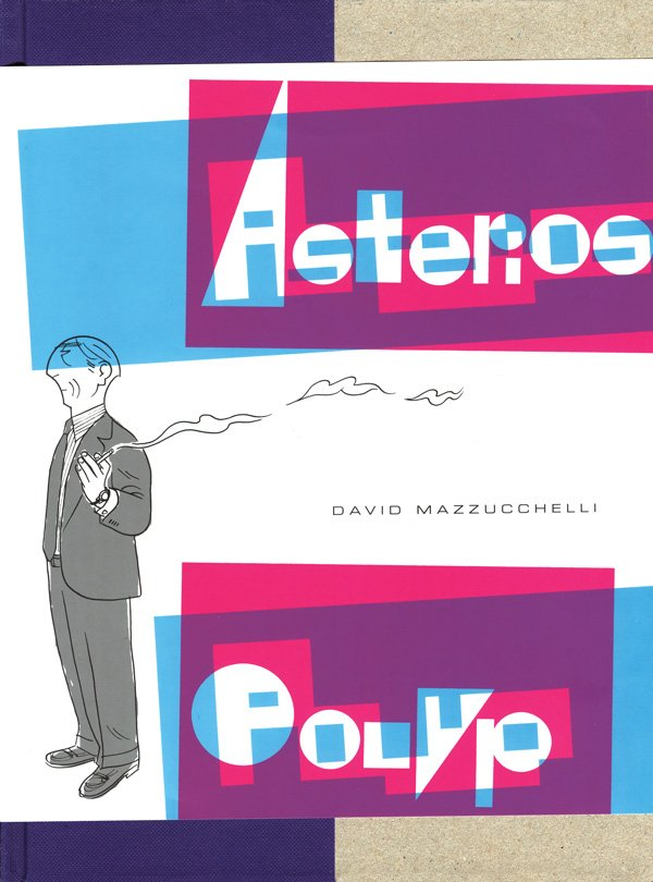 Image of   Asterios Polyp - David Mazzucchelli - Tegneserie