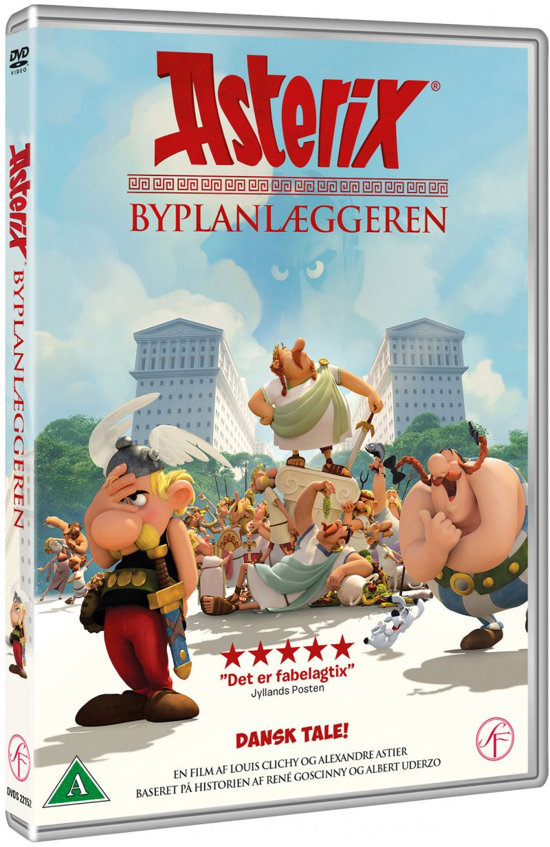 Image of   Asterix - Byplanlæggeren - DVD - Film