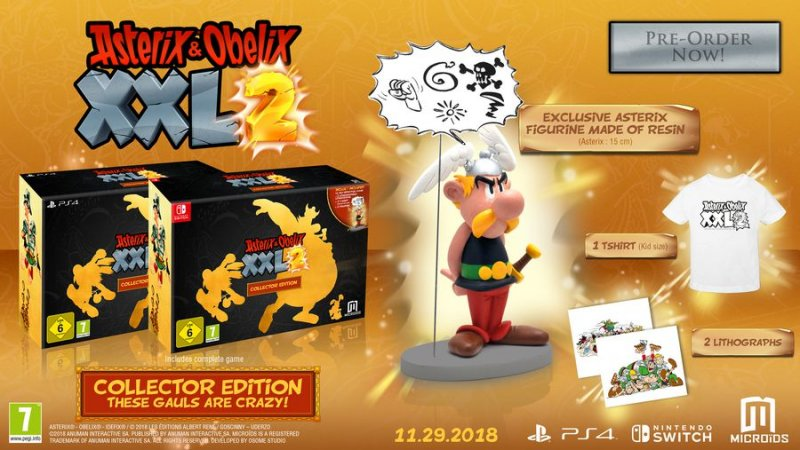 Image of   Asterix & Obelix Xxl2 Collector Edition - Nintendo Switch