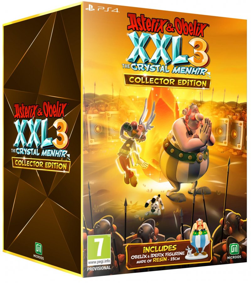 Image of   Asterix & Obélix Xxl 3 - The Crystal Menhir - Collector's Edition - PS4