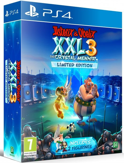 Image of   Asterix & Obélix Xxl 3 - The Crystal Menhir - Limited Edition - PS4