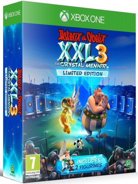 Image of   Asterix & Obélix Xxl 3 - The Crystal Menhir - Limited Edition - Xbox One