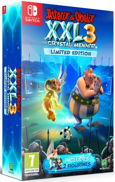Image of   Asterix & Obélix Xxl 3 - The Crystal Menhir - Limited Edition - Nintendo Switch