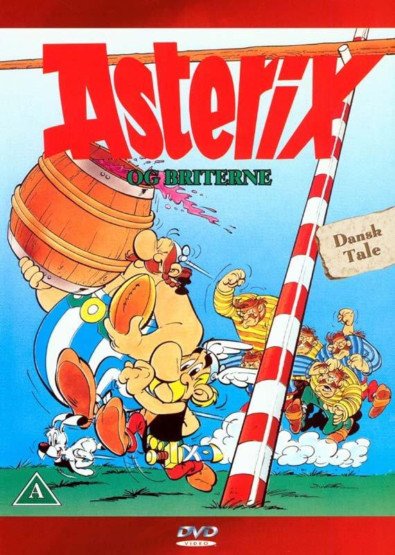 Image of   Asterix Og Briterne - DVD - Film