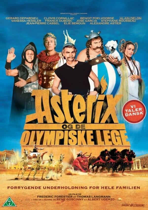 Billede af Asterix Og Obelix Og De Olympiske Lege - DVD - Film