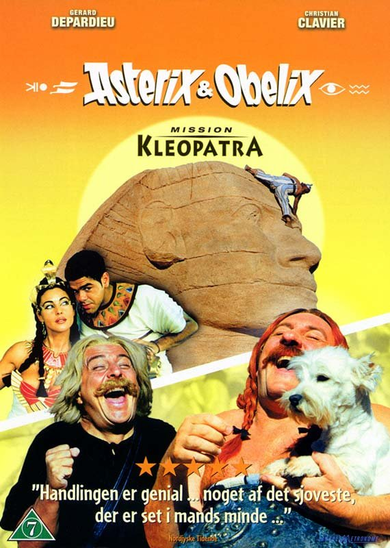 Image of   Asterix Og Obelix 2 - Mission Kleopatra - DVD - Film