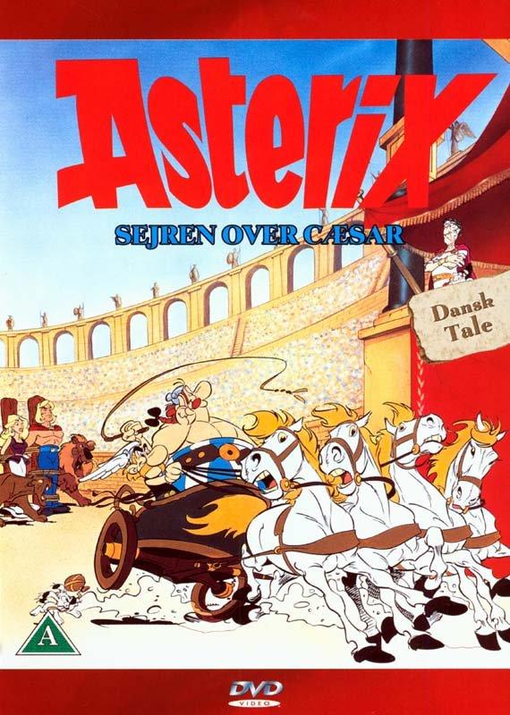 Image of   Asterix - Sejren Over Cæsar - DVD - Film